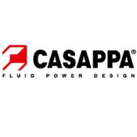 logo Casappa hydraulics manufacture of main product with part number PLP10.4-81E1/10.2 D-EL-FS