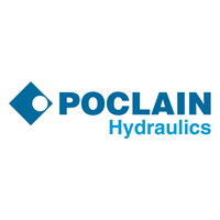 logo poclain hydraulics manufacture of main product with part number VP-RT-6-EA-100